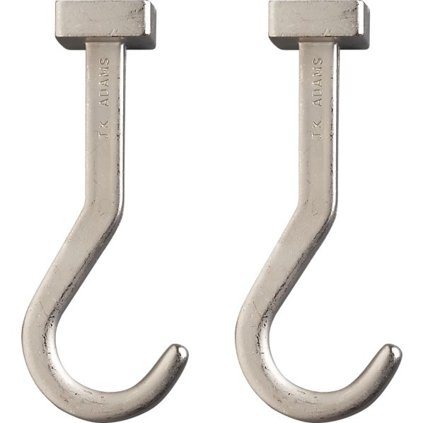 J.K. Adams Pot Hooks Set of Two