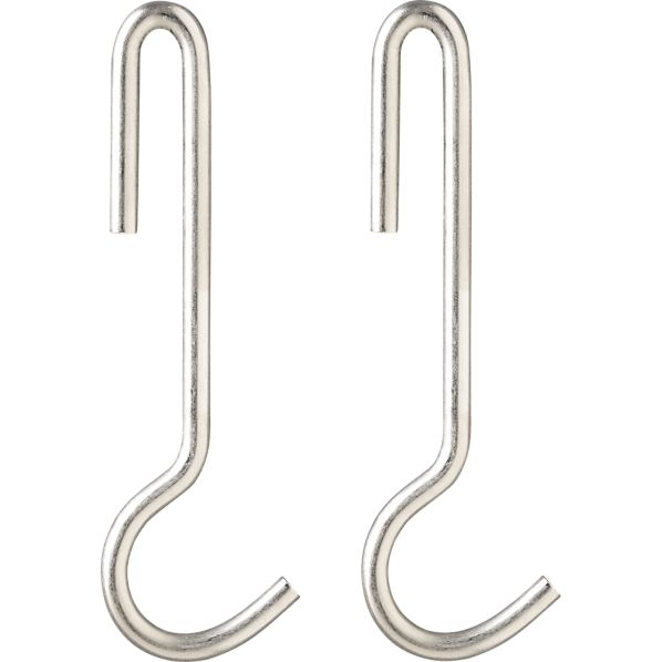 J.K. Adams Utensil Hooks Set of Two