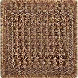 Savannah Cane 12&quot; sq. Rug Swatch