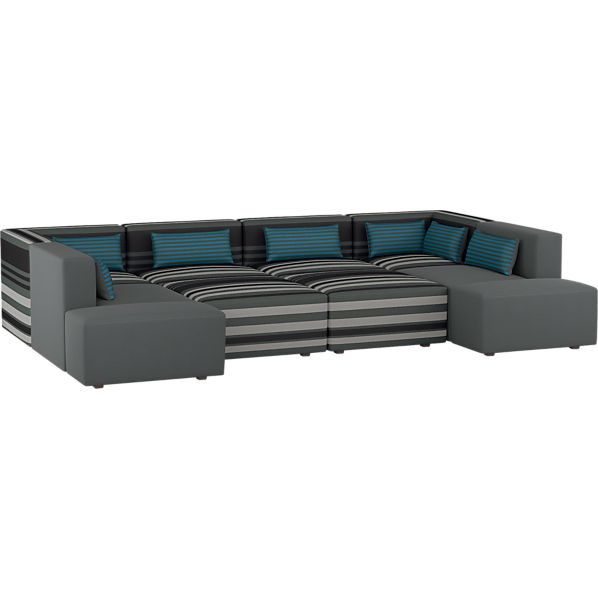 Savino 10-Piece Sectional Sofa