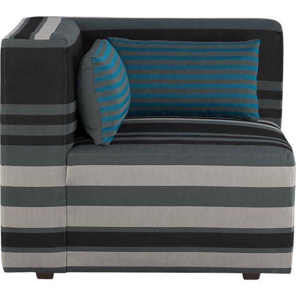 Savino Stripe Left Sectional Corner