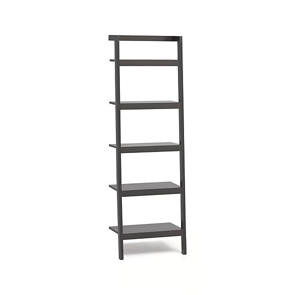 "Sawyer Grey Leaning 25"" Bookcase"