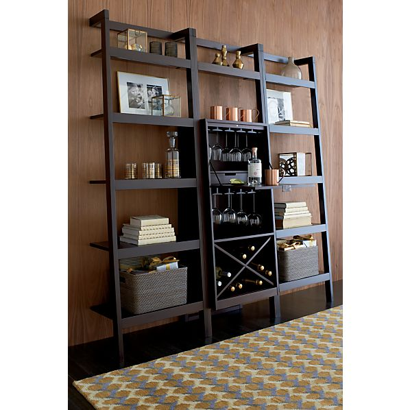 Leaning Bookcase Crate And Barrel Q=leaning Bookcase Crate
