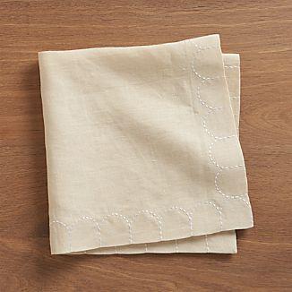 Scallop Linen Napkin