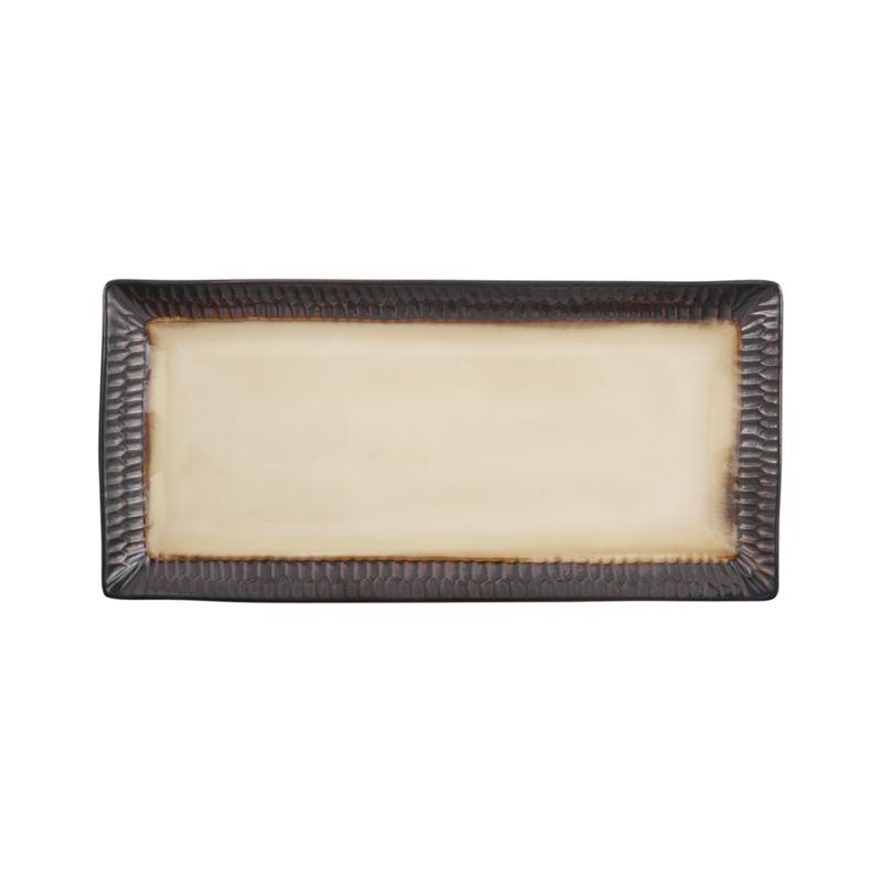 Scavo Rectangular Platter
