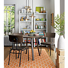 5-Piece Scholar Dining Set: table and 4 chairs.