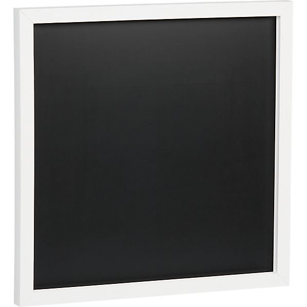 Scoop White Chalkboard