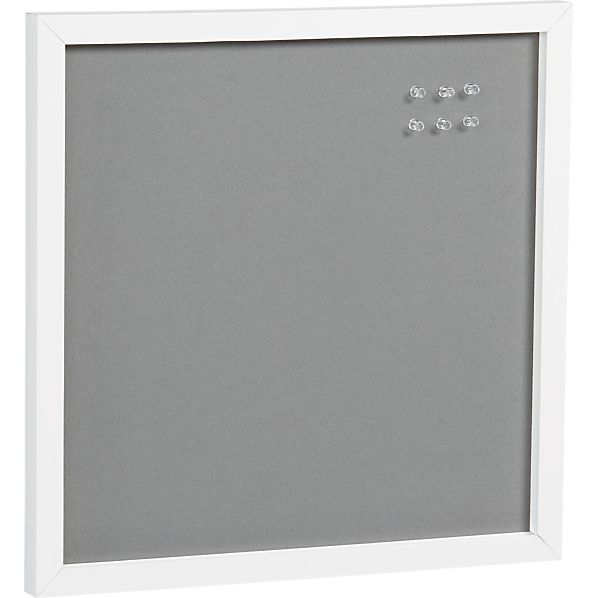 Scoop Grey Felt Board