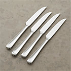 Set of four Scoop steak knives. 9.75""