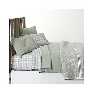 Sea Green Bed Linens