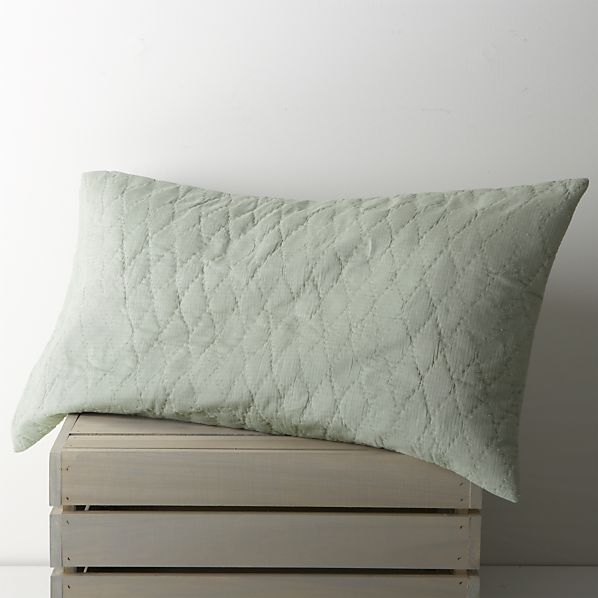 Sea Green King Sham