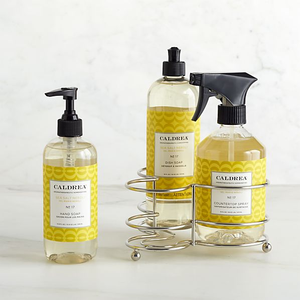 Caldrea® Sea Salt Neroli 3-Piece Kitchen Soap Set