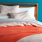 Seaside Coral Twin Duvet.