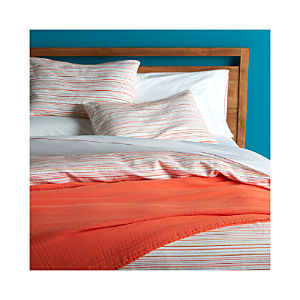 Seaside Coral Full-Queen Duvet Cover