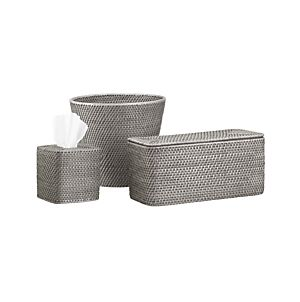 Bathroom accessories and furniture crate and barrel for Bathroom accessories with tray