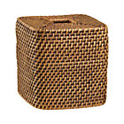 Sedona Honey Square Tissue Box Cover.