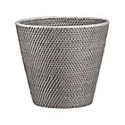 Sedona Grey Tapered Wastebasket.