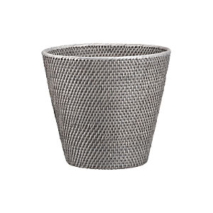 Sedona Grey Tapered Wastebasket