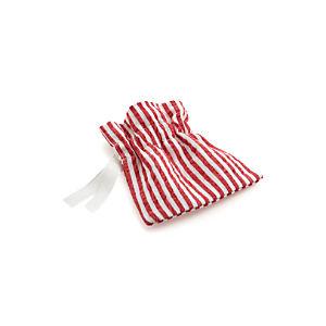 Seersucker Red Flatware-Goodie Pouch