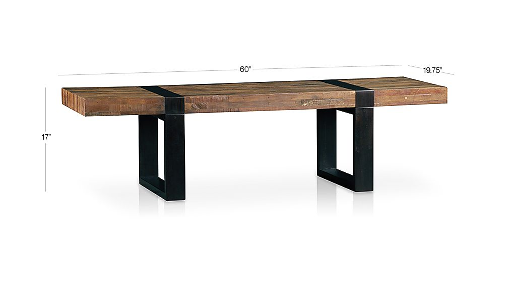 Seguro Rectangular Coffee Table Dimensions