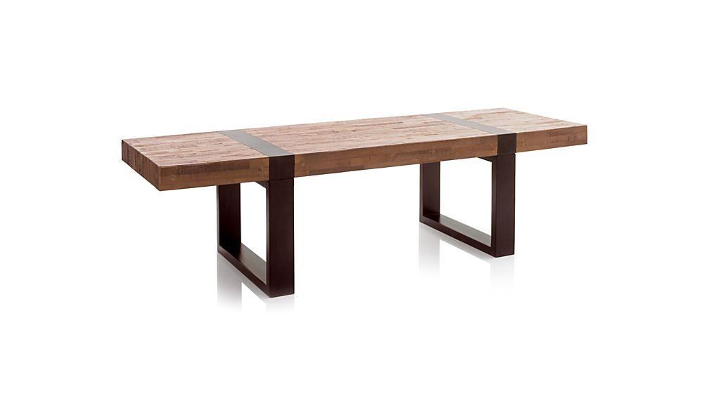 Seguro Rectangular Coffee Table In Coffee Tables Side Tables Crate And Barrel