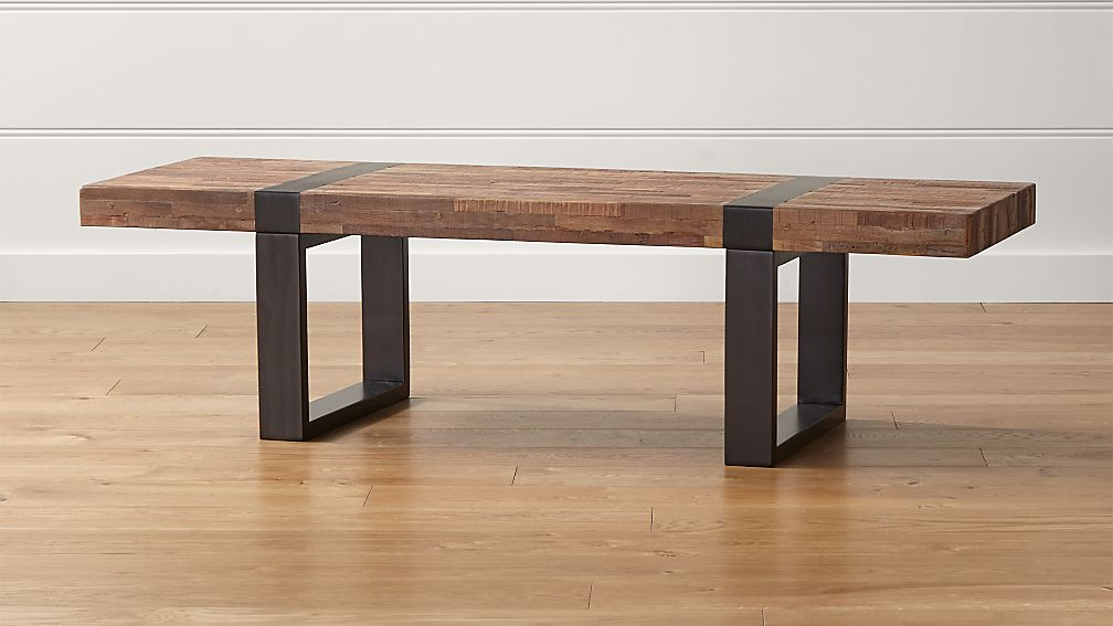Seguro Rectangular Coffee Table in Coffee Tables amp Side  : seguro rectangular coffee table from www.crateandbarrel.com size 1008 x 567 jpeg 56kB