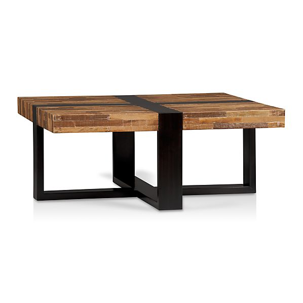 Off Crate And Barrel Crate Barrel Square Coffee Table: Seguro Square Coffee Table In Coffee Tables & Side Tables