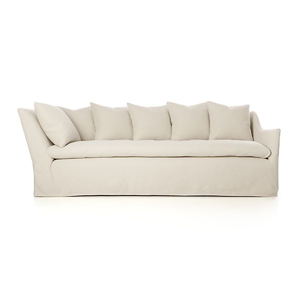 "Slipcover Only for Serene 98"" Right Arm Corner Sofa"
