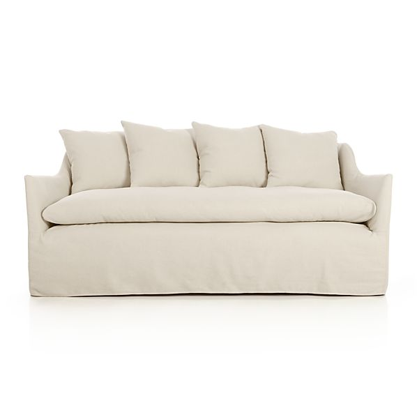 Serene Slipcovered Apt Sofa