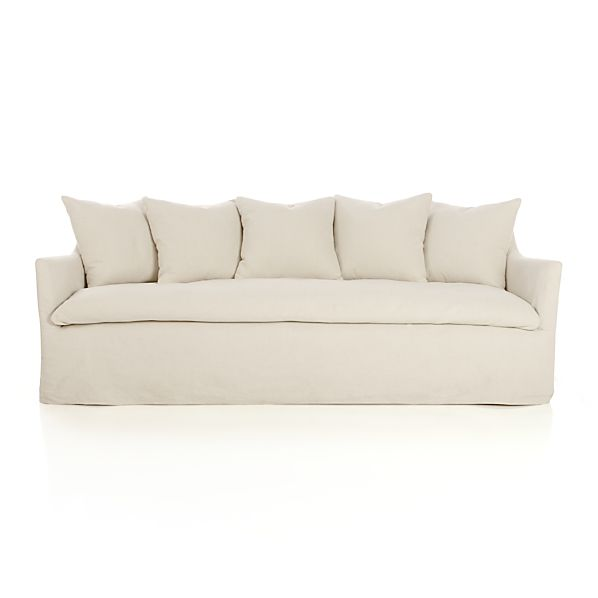 Serene Slipcovered Sofa