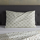 Sereno Neutral Hand-Blocked Standard Sham.