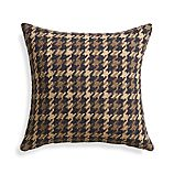 "Seville Natural 18"" Pillow with Down-Alternative Insert"