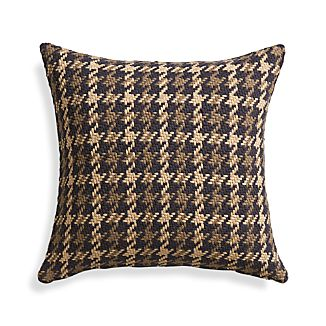 "Seville Natural 18"" Pillow with Feather-Down Insert"