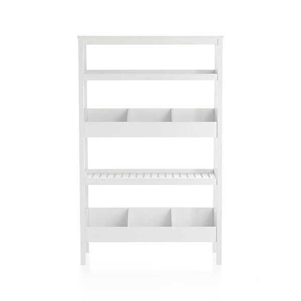 Seville White Open Shelf Unit