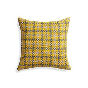 "Seville Yellow 18"" Pillow"