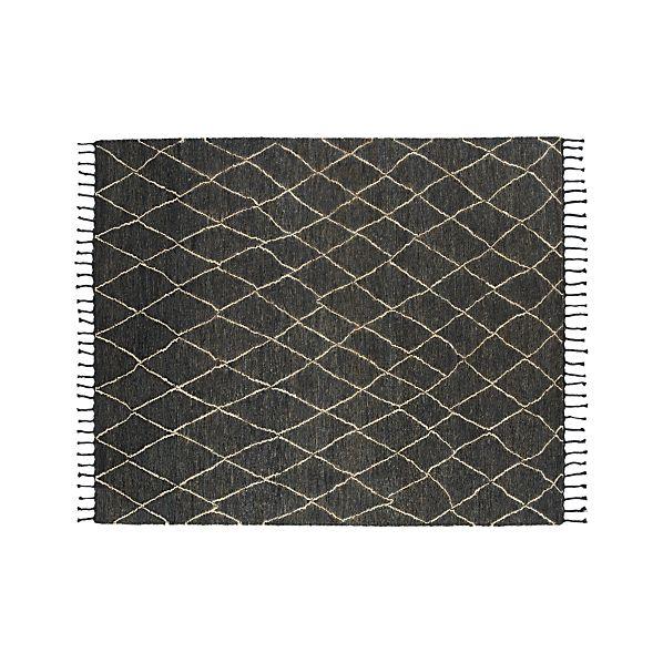 Shaba Black 8'x10' Rug