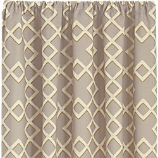 Shadow Trellis Citrine Curtain Panels