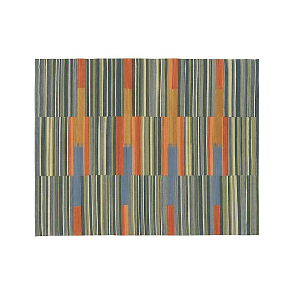 Sharif Striped Wool 8'x10' Rug