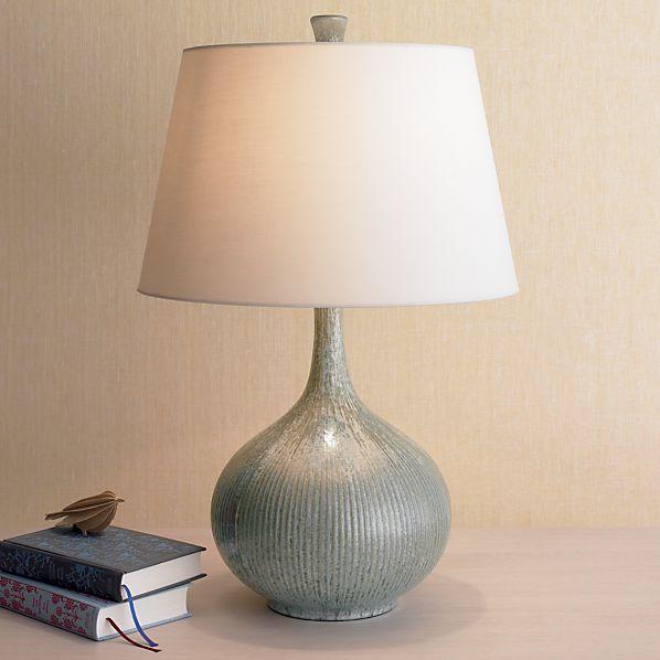shaye table lamp crate and barrel. Black Bedroom Furniture Sets. Home Design Ideas