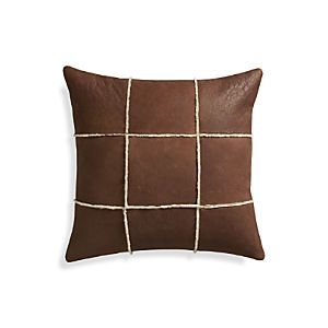 "Shearling 20"" Pillow"