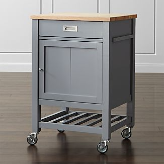 Sheridan Grey Kitchen Cart