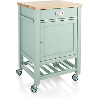 Sheridan Mint Kitchen Cart