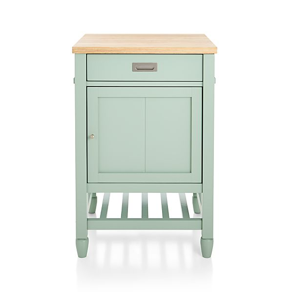 Sheridan Mint Kitchen Cart Crate And Barrel