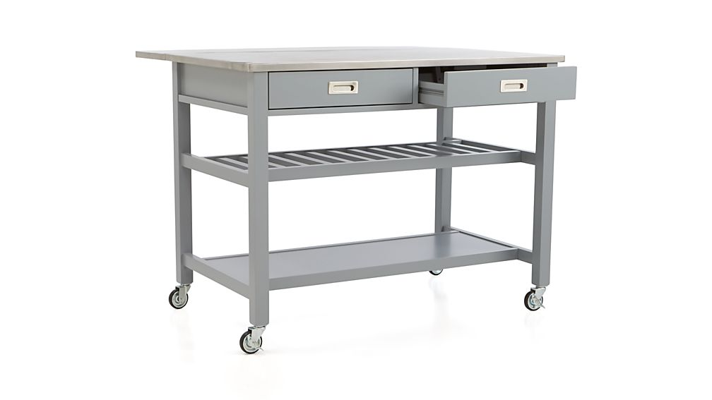 Sheridan Grey Kitchen Island