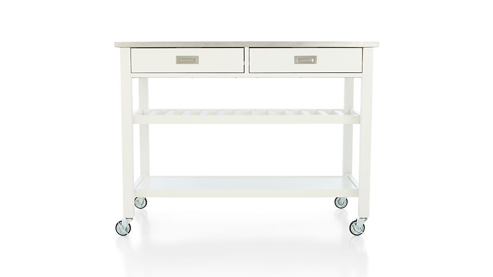 Sheridan White Kitchen Island