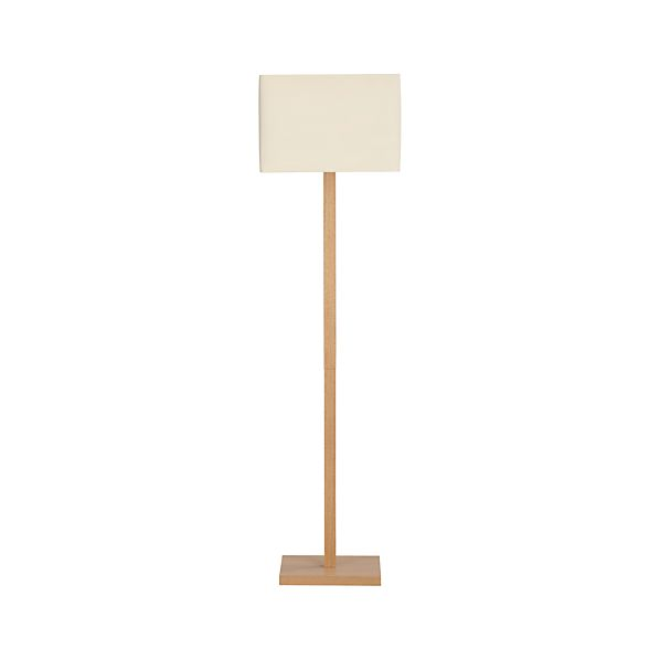 Sherwood Floor Lamp in Floor Lamps, Torchieres | Crate and Barrel