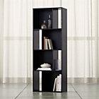 Shift Black Bookcase.