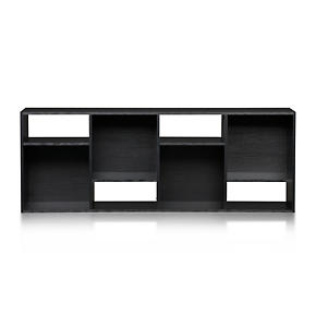 Shift Black 74 Bookcase