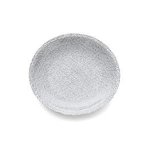 Shimmer Silver Appetizer Plate