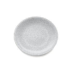 Shimmer Silver Dinner Plate
